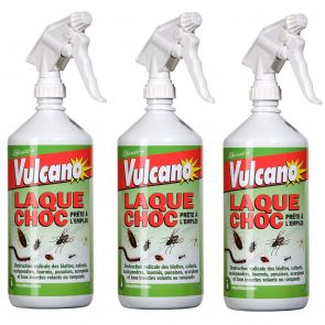 LAQUES INSECTICIDES LOT DE 3